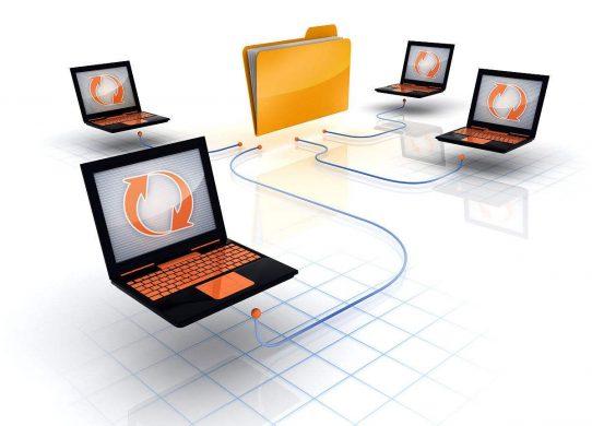 多台电脑怎样共享文件?